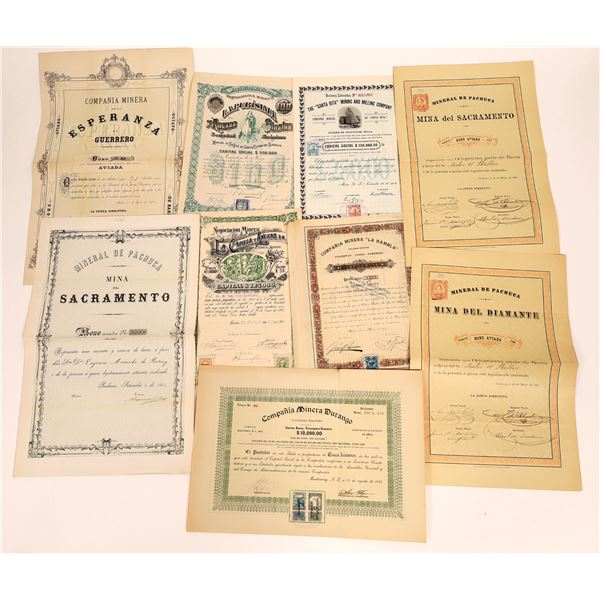 Mexican Mining Bond Collection  [135026]