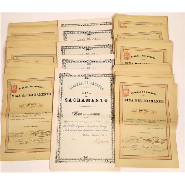 Mining Bonds for Two Mexico Mines Del Sacramento and Del Diamante  [135025]