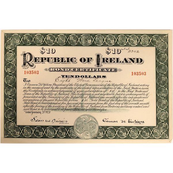 Republic of Ireland Bond Certificate  [135095]