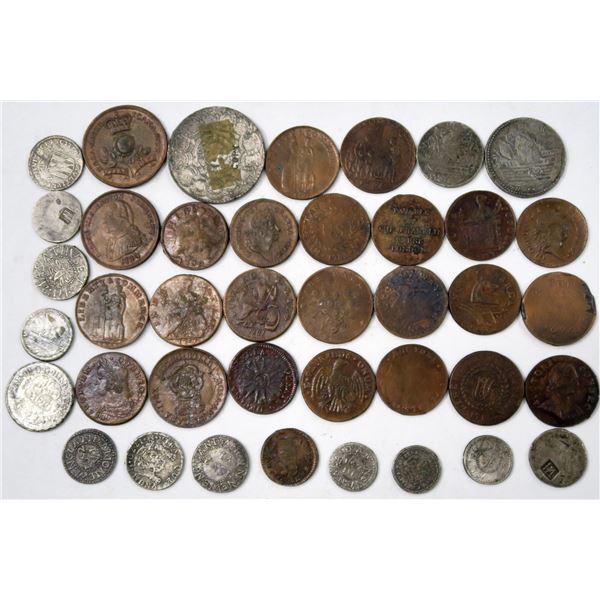 Facsimile Revolutionary War Coin Collection (40)  [136889]