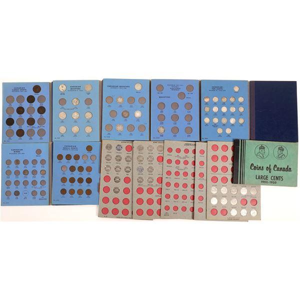 Canadian Coin Album Collection  [136389]