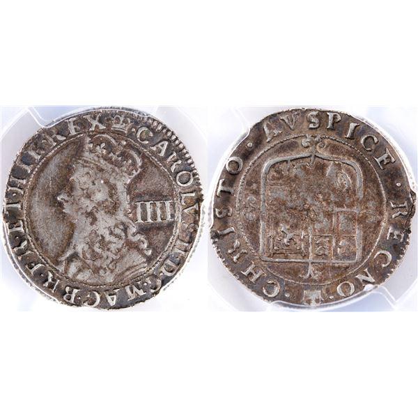1660-62 Hammered Silver Coinage Groat Four Pence  [135223]
