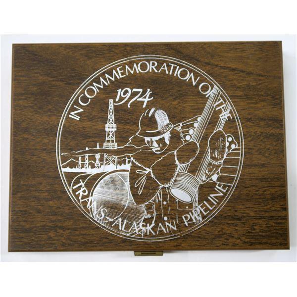 Trans-Alaskan Pipeline Commemorative Coin Set  [137034]