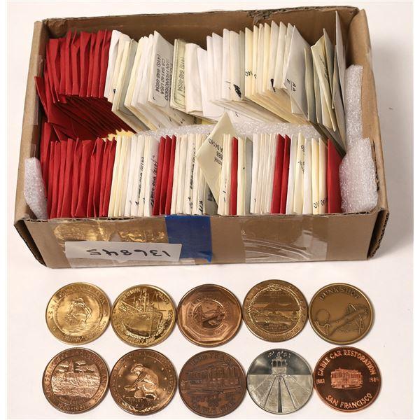 Bay Area Coin Club Commemorative Medals 1950-1990  [136845]