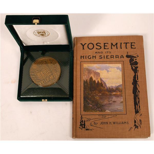 "Yosemite National Park Centennial Medal/""Yosemite and its High Sierra""   [137944]"