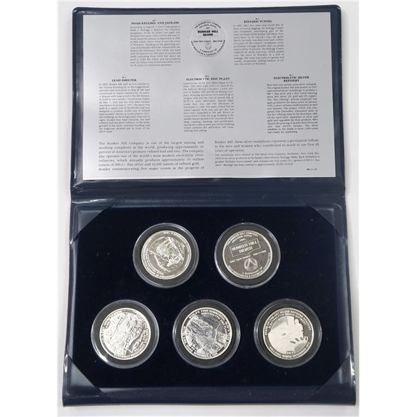Bunker Hill Company Silver Medallion Series  [137712]