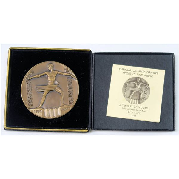 Century of Progress 1933 Official Medal  [137784]