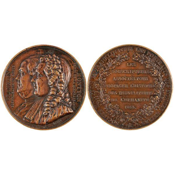 Benjamin Franklin/ Montyon Medal  [137793]