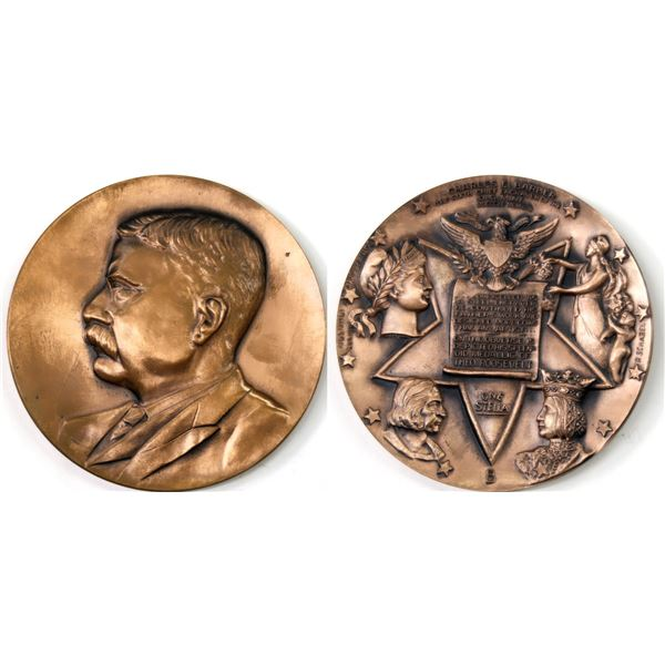 Charles Barber Tribute Medallion by Metal Arts Co.  [138912]