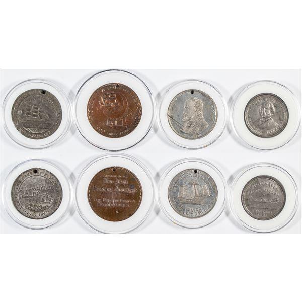 Commemorative Ship Medals (4)  [137495]