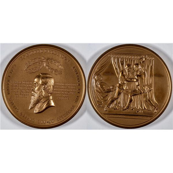 George F Robinson Mint Medal Restrike  [137504]