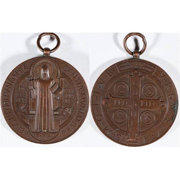 Martin Luther Medallion - Bronze  [138909]