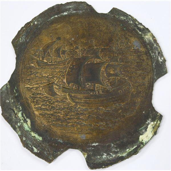 Medallic Art Company Original Galvano-Negative for Am Assoc of Teachers of Spanish  [137092]
