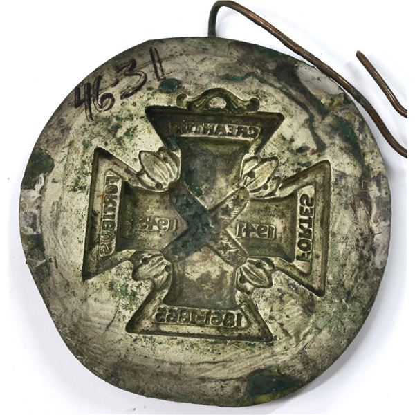 Medallic Art Company Original Galvano-Negative for Daughters of the Confederacy  [137094]