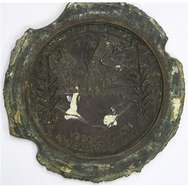 Medallic Art Company Original Galvano-Negative for National Parks Association  [137091]