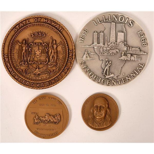 Medallic Art U. S. Bronze & Silver Medals  [138822]