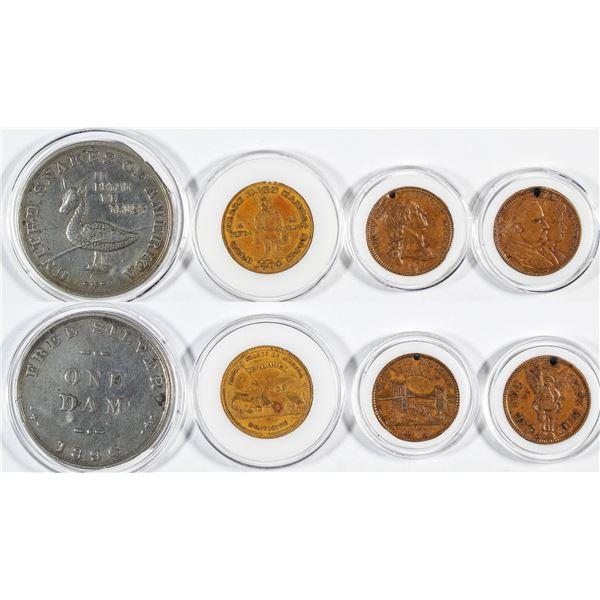 Political Medals (4)  [137494]