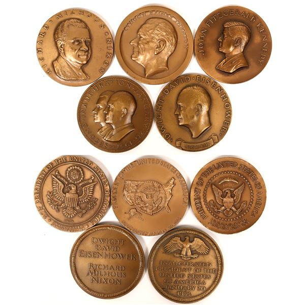 Presidential Inauguration Medals by Medallic Art Company  [135698]