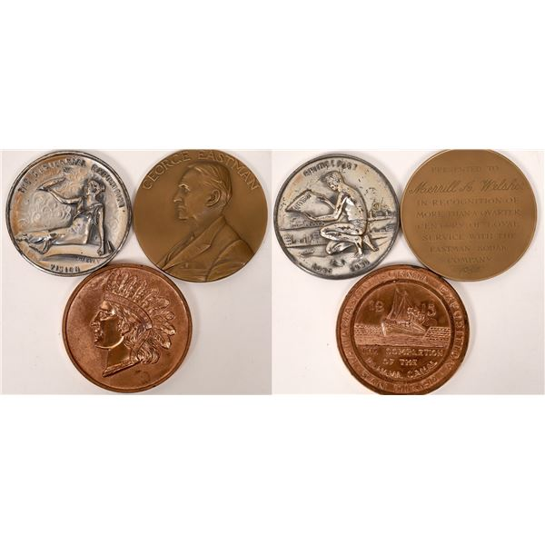 Three Oversized Medals  [137704]