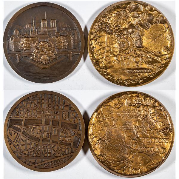 Paris Mint medals (2)  [137502]