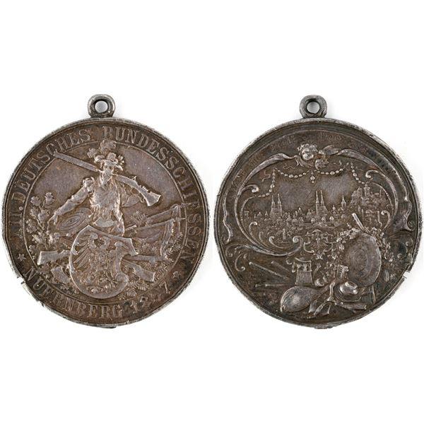1897 Schutzenfest Silver Medal  [137791]
