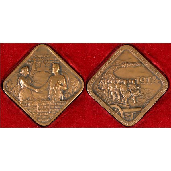 Swiss Red Cross Medal  [137709]