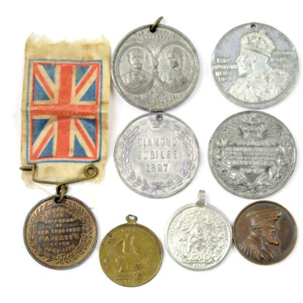 Commemorative Medals, Mostly British - 8 pieces  [138915]
