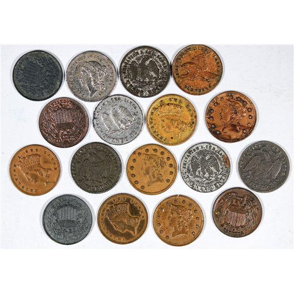 U.S. Miniature Coins by Lauer  [137331]