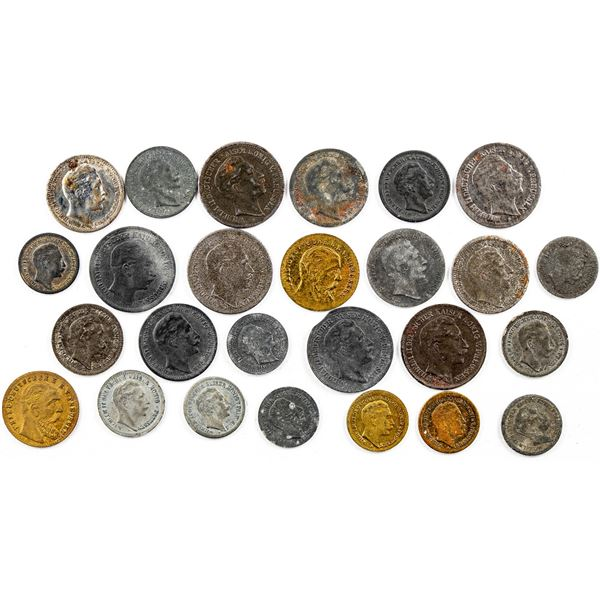 Miniature Counters of Prussia  [137334]