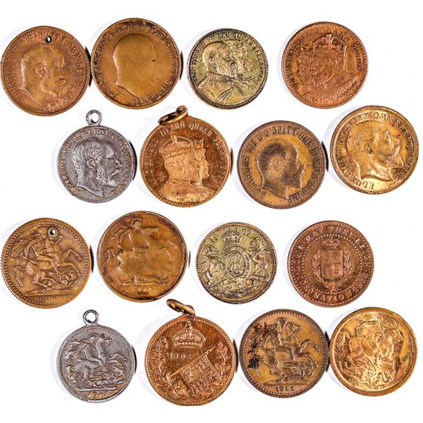 Edward VII Counters  [135701]