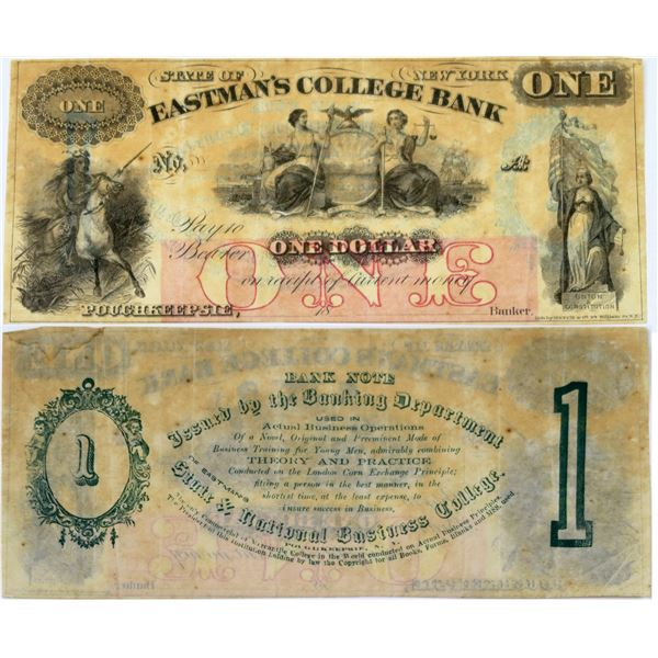 Eastman's College Bank Currency  [136376]