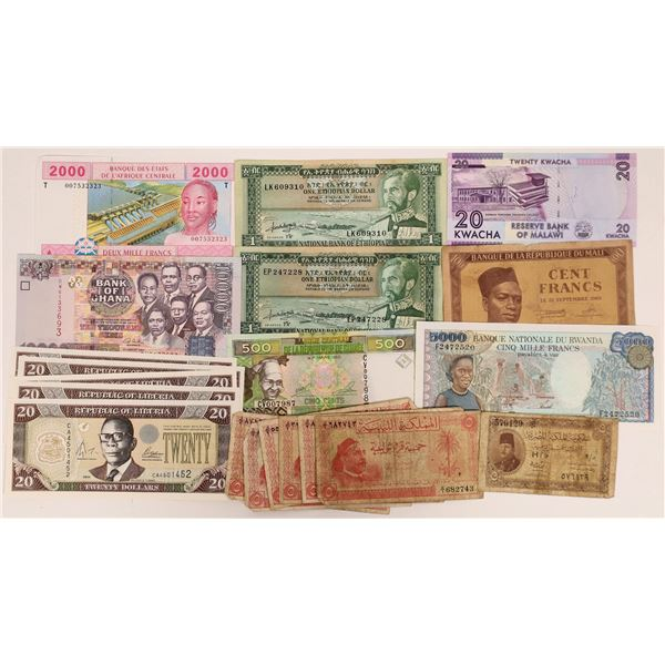 African Currency Group 2 - 15 pieces  [136112]
