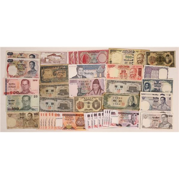 Central and East Asia Currencies  [136116]