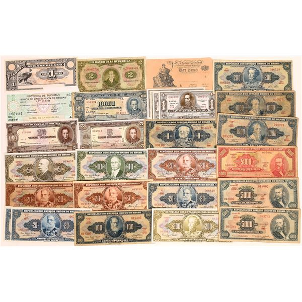 South American Currencies  [136118]