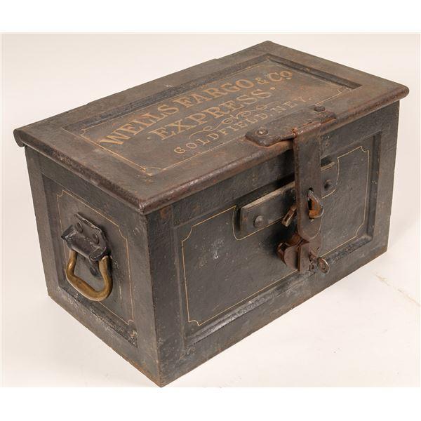 Wells Fargo & Co. Express, Goldfield, Nevada Iron Strongbox  [135050]