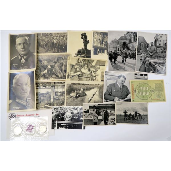 Third Reich Coins, Currency, & Other Ephemera Collection  [137783]