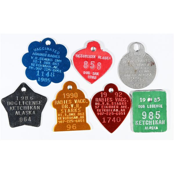 Alaska Dog License Collection  [136426]