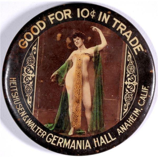 Anaheim, California, Good For Trade Mirror  [136351]