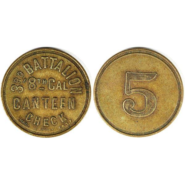 3rd Battalion Canteen Check  [136756]
