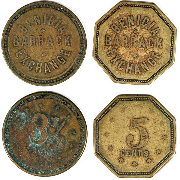 Benicia Barrack Exchange Tokens  [136761]