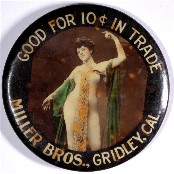 Gridley, California, Good For Trade Mirror  [136347]
