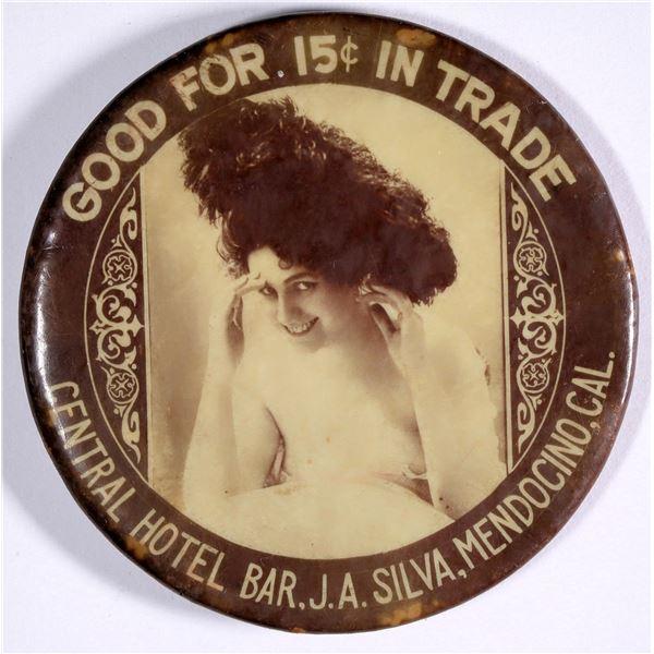 Mendocino, California, Good For Trade Mirror  [136346]