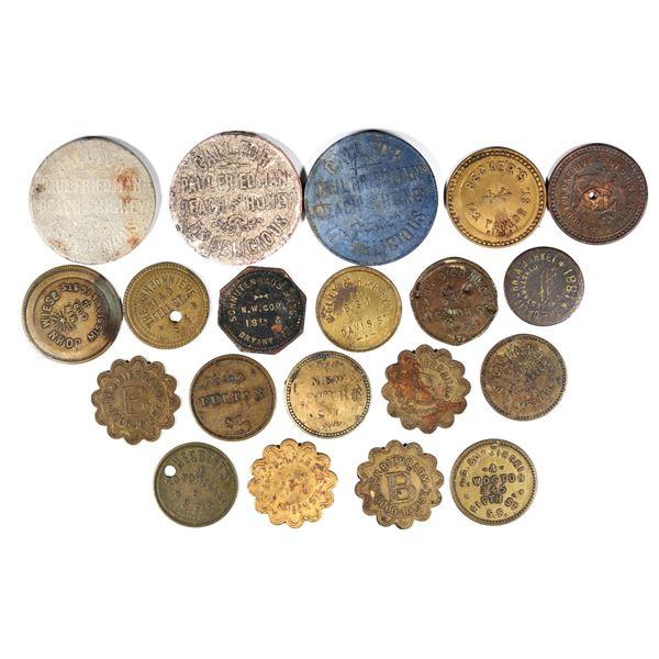 Early San Francisco Token Collection  [136505]