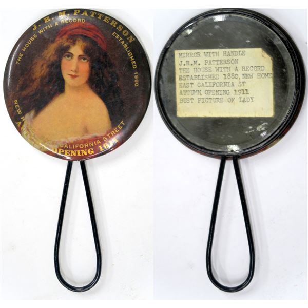 San Francisco Saloon Advertising Mirror  [136360]