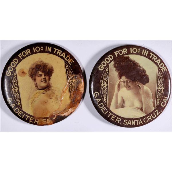 Santa Cruz Advertising Mirrors  [136753]