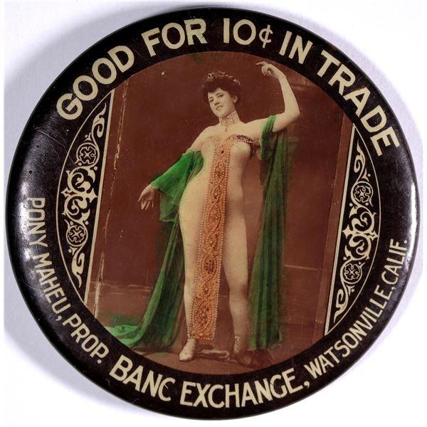 Banc Exchange Advertising Mirror  [136752]