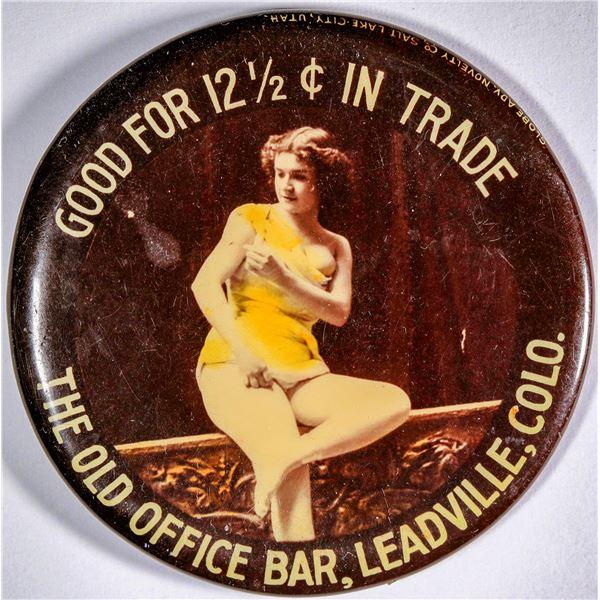 Leadville, Colorado, Good for Trade Mirror  [136340]