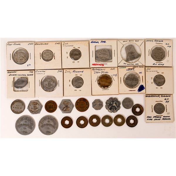 Indiana Town Token Collection  [136434]
