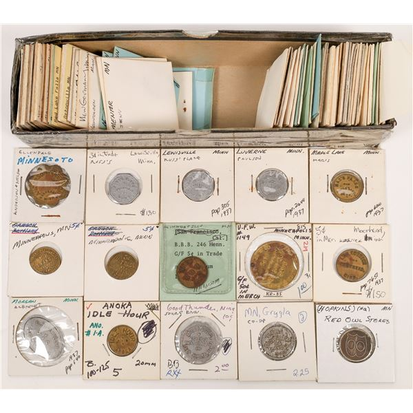 Minnesota Town Token Collection  [136416]