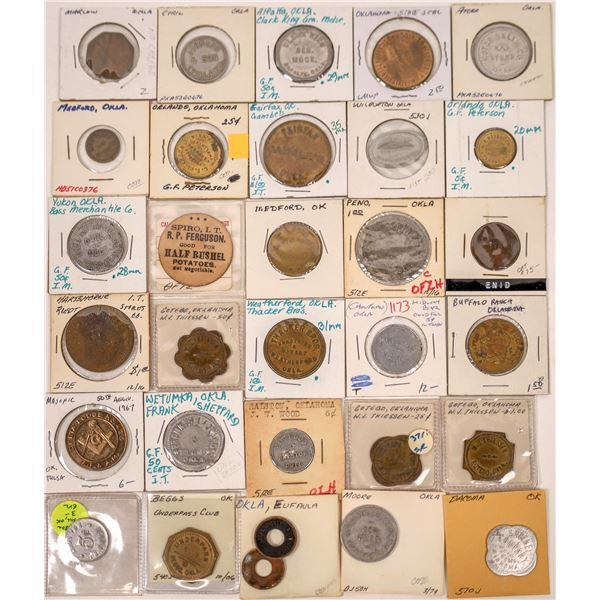 Oklahoma Token Collection  [136425]